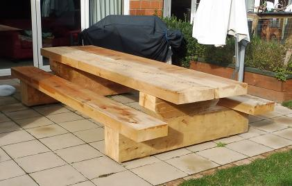 Chunky Outdoor Furniture